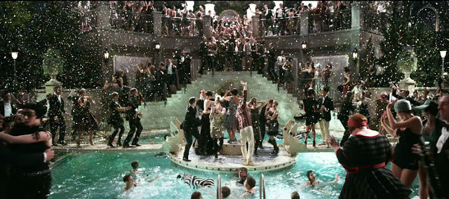 5 reasons you need to see the great gatsby lessons from happy hour lifestyle blog for Jay gatsby fear of swimming pools