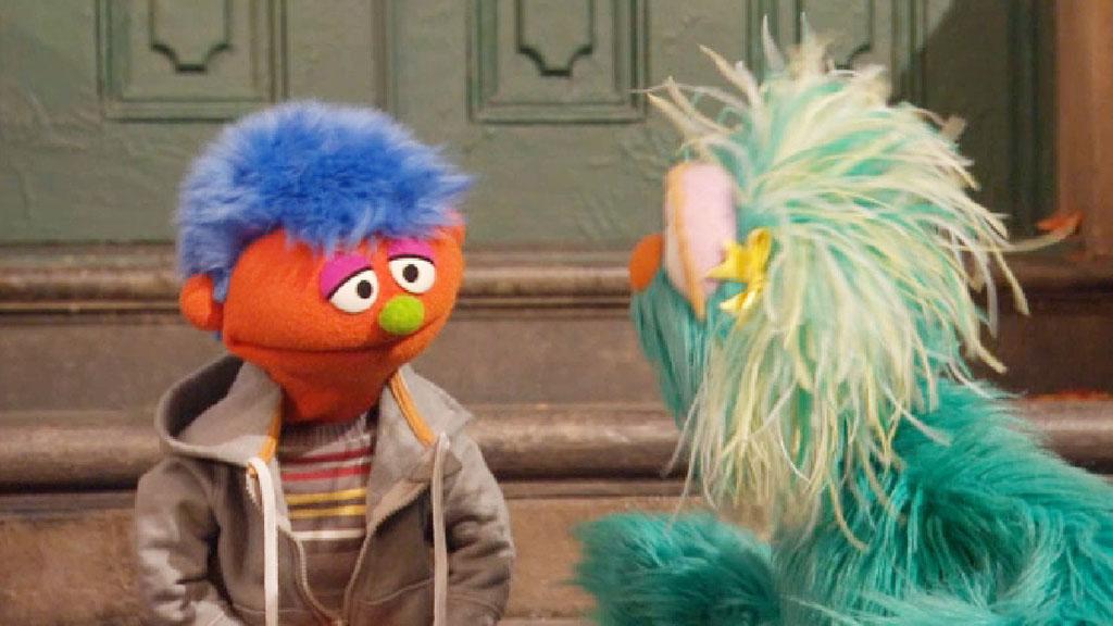 Meet Alex: The first Sesame Street muppet to have an