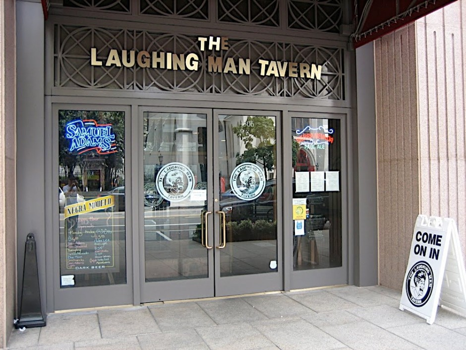 Laughing Man Tavern Exterior