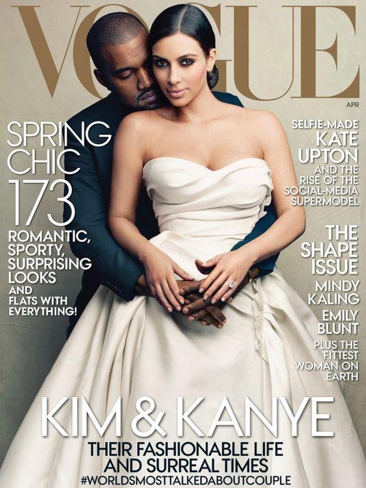 Kimye Vogue