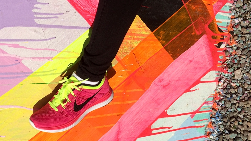 Nike-Flyknit-Lunar-1-Running-Shoes-on-Maya-Hayuks-Bowery-Mural